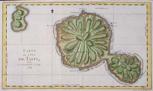 The Mutiny on the Bounty: Maps