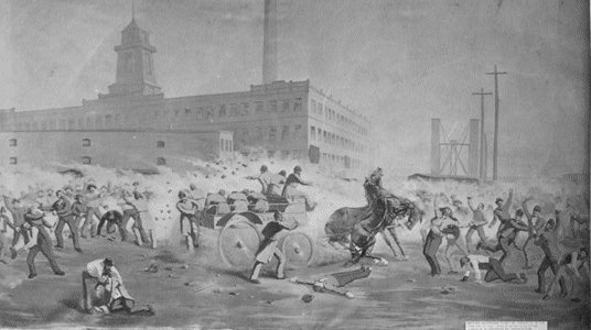 death in the haymarket thesis In the evening of may 4, 1886 workers gathered to attend a rally in chicago's haymarket square the demonstration condemned the recent use of lethal force by the city's police force in suppressing strike activity at the mccormick reaper works.