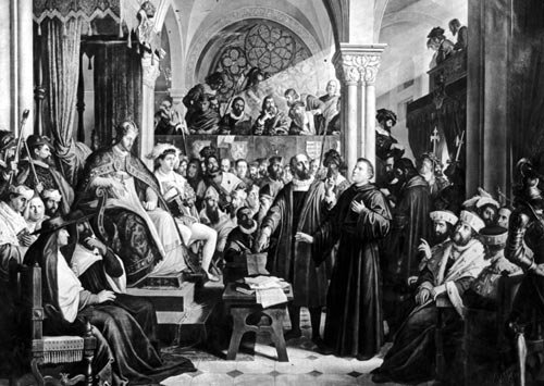 the trial of martin luther an account