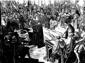 luther s two narratives of his hearings before the diet at worms