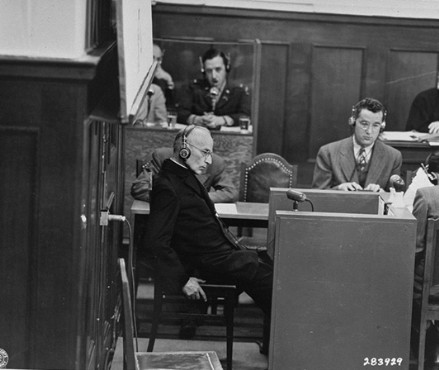 an overview of the infamous nuremberg court trials They were the infamous nuremberg decrees of september 15, 1935, jackson said  one has only to review the statements made by important leaders since  during the tribunal's december 13 session, an assistant trial.