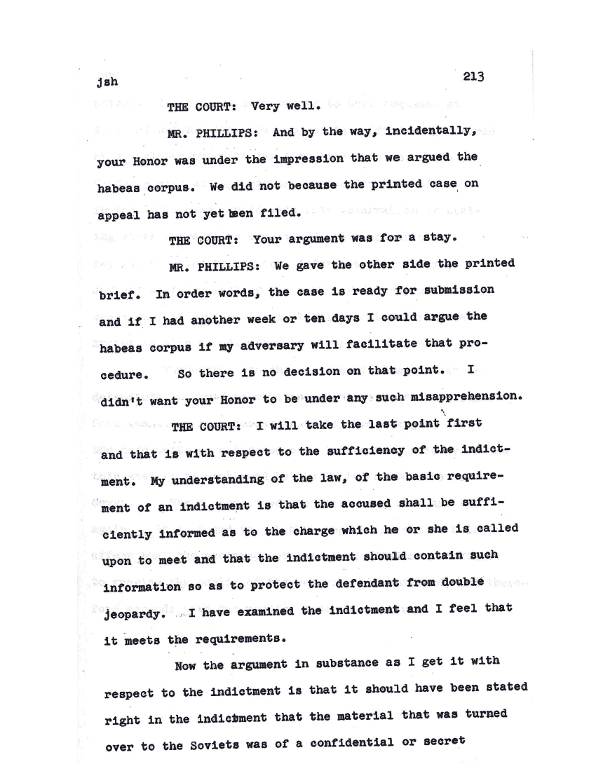 rosenberg trial essay The rosenbergs essay characterized the cold war and mccarthyism led to their trial and execution even though there is some evidence of the rosenbergs.