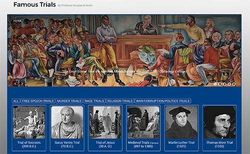 The new Famous Trial Website is now up and running